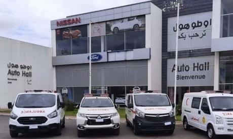 Auto Hall offre 40 ambulances à la Fondation Mohammed V pour la Solidarité