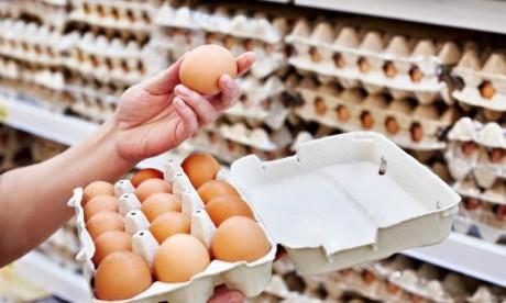 Œufs de consommation : l'ANPO rassure, l'offre dépasse largement la demande