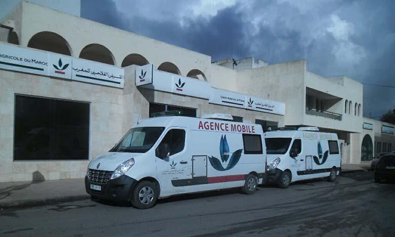 Aides aux populations vulnérables : Crédit agricole du Maroc mobilise ses agences mobiles