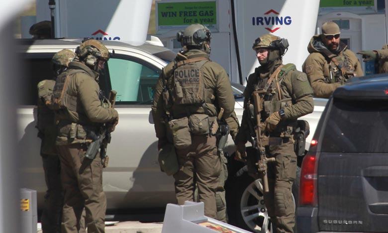 L'assaillant a été neutralisé après une cavale meurtrière de douze heures en Nouvelle-Écosse. Ce massacre, dont le bilan n'est pas définitif, est d'ores et déjà le pire que le Canada ait connu de toute son histoire. Ph : AFP