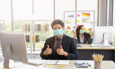 Les masques de protection du personnel désormais à la charge de l'employeur