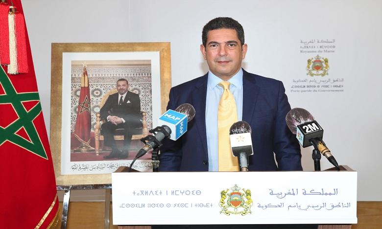 Le communiqué lu par le ministre de l'Éducation nationale, de la Formation professionnelle, de l'Enseignement supérieur et de la Recherche scientifique, porte-parole du gouvernement, Saaid Amzazi lors d'un point de presse à l'issue du Conseil.
