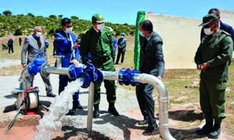Lancement d'un projet d'approvisionnement en eau potable