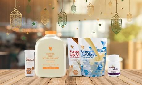 Forever lance quatre produits novateurs pour un ramadan en pleine santé !