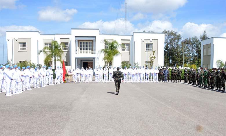 L'Hôpital militaire de campagne à Nouaceur, une nouvelle structure sanitaire opérationnelle pour faire face au coronavirus