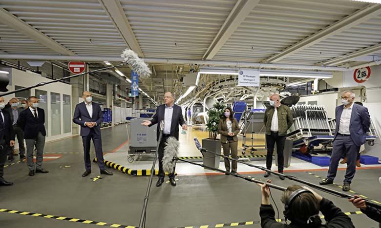 Volkswagen: Reprise de la production à l'usine de Wolfsburg
