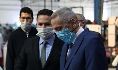 Le Maroc produira 5 millions de masques de protection par jour à partir  de mardi prochain