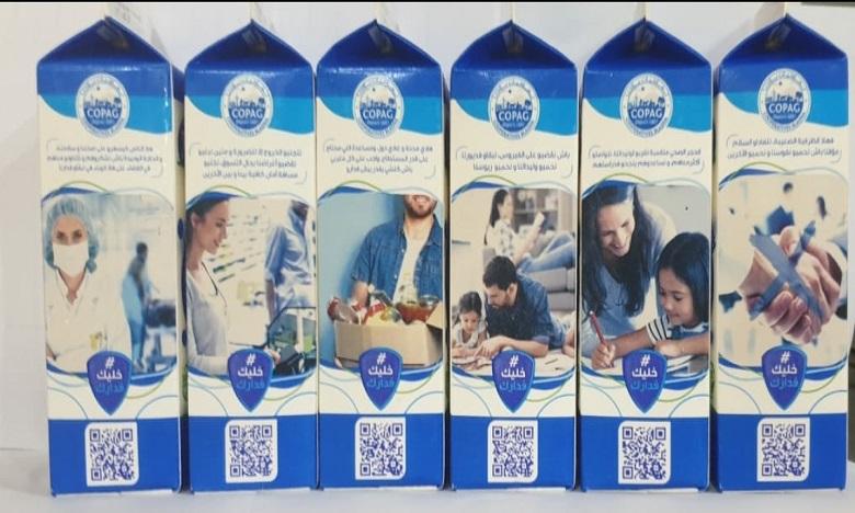 COPAG-JAOUDA élargit sa campagne de sensibilisation grâce aux emballages