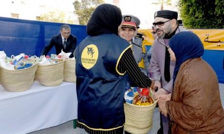 """Instructions royales pour le lancement de l'opération de soutien alimentaire """"Ramadan 1441"""""""