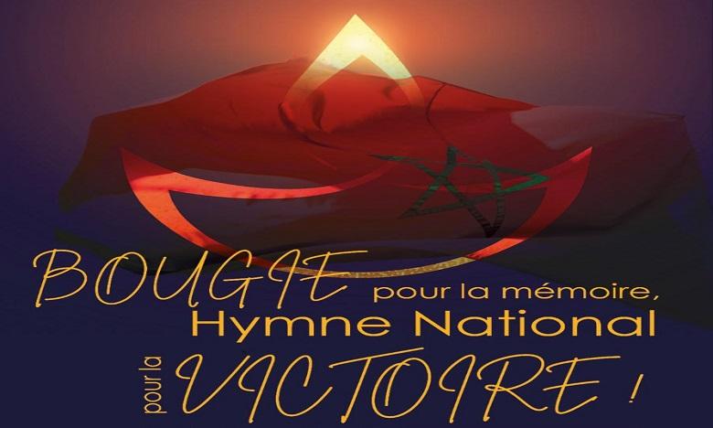Une bougie pour la mémoire, l'Hymne national pour la victoire