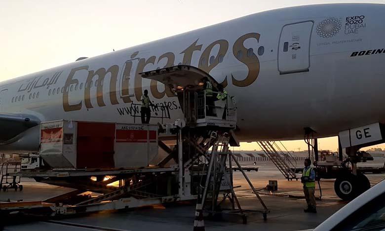 Emirates SkyCargo maintient ses opérations sur le Maroc