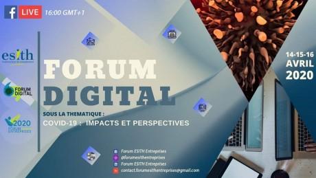Le Forum ESITH Entreprises organise un Webinar sur les impacts du Covid-19