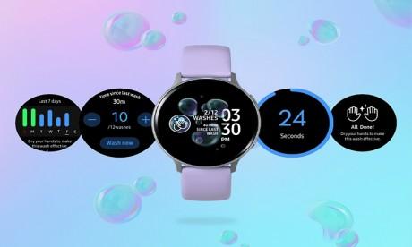 Montres Samsung : nouvelle fonctionnalité dédiée au lavage des mains