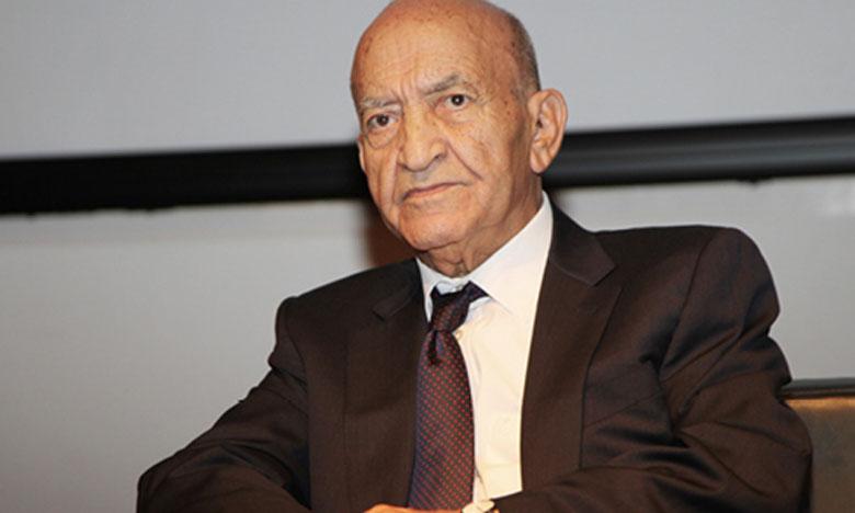 L'ancien premier ministre, Abderrahmane El Youssoufi.