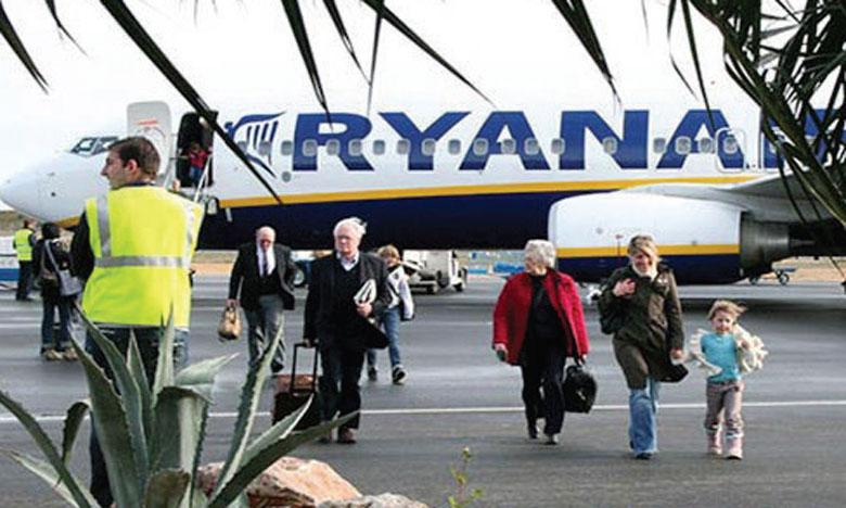 Ryanair va exploiter 40% de son programme de vols en juillet