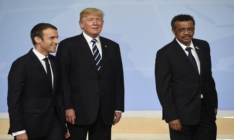 Trump : les Etats-Unis mettront fin aujourd'hui à leur relation avec l'OMS