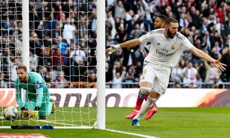 Le Real Madrid de retour à l'entraînement