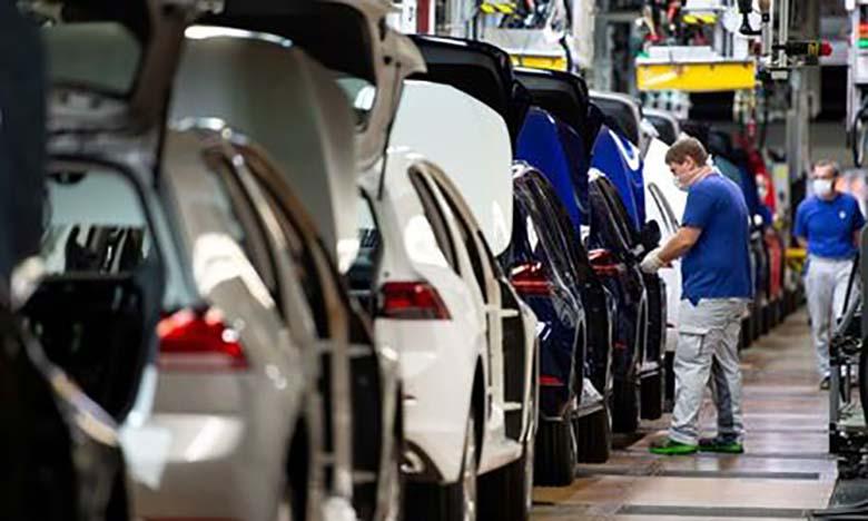 Le marché automobile européen chute de 78,3% en avril
