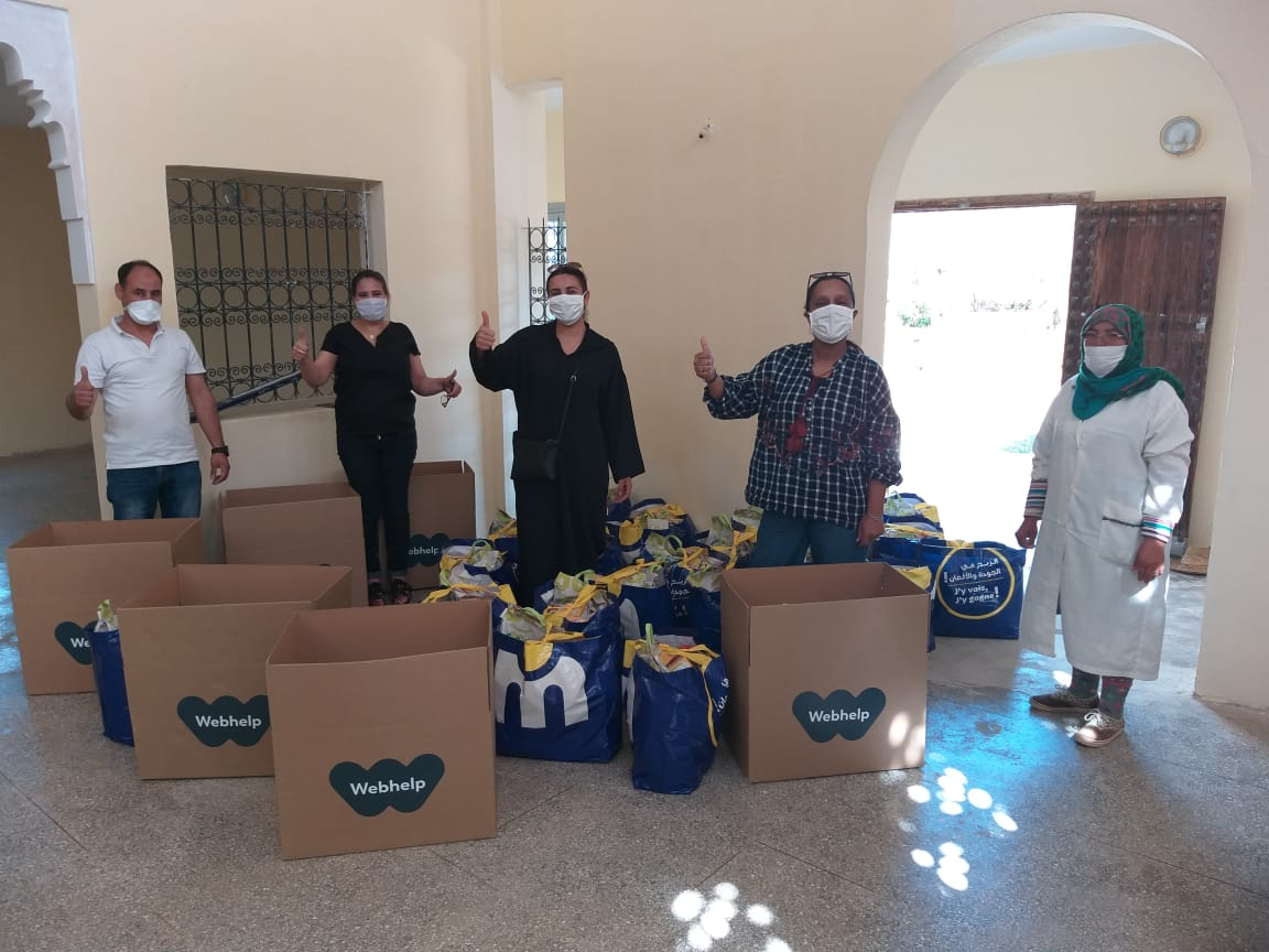 Crise sanitaire : Webhelp Maroc diversifie ses actions de solidarité