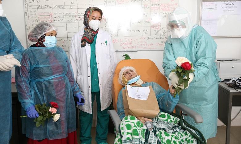 A 110 ans, elle a vaincu le coronavirus