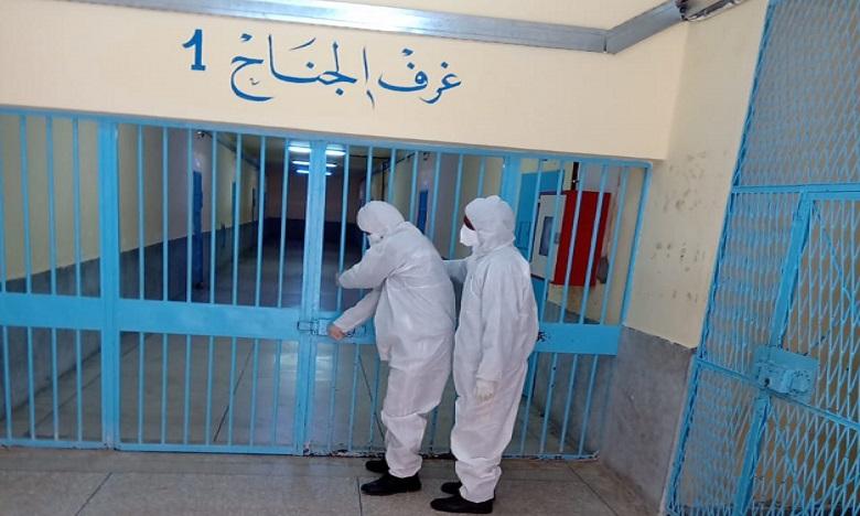 DGAPR: Le confinement bientôt levé dans plusieurs établissements pénitentiaires