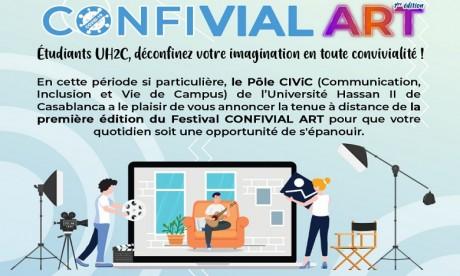 """""""ConfivialArt"""" : L'Université Hassan II organise son festival culturel à distance"""