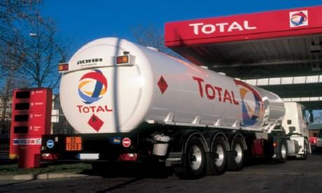 Total Maroc  : Action de solidarité avec les chauffeurs de transport de carburant