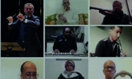 Le confinement inspire un morceau  de musique à l'ensemble «Achjane Al Aoutar»