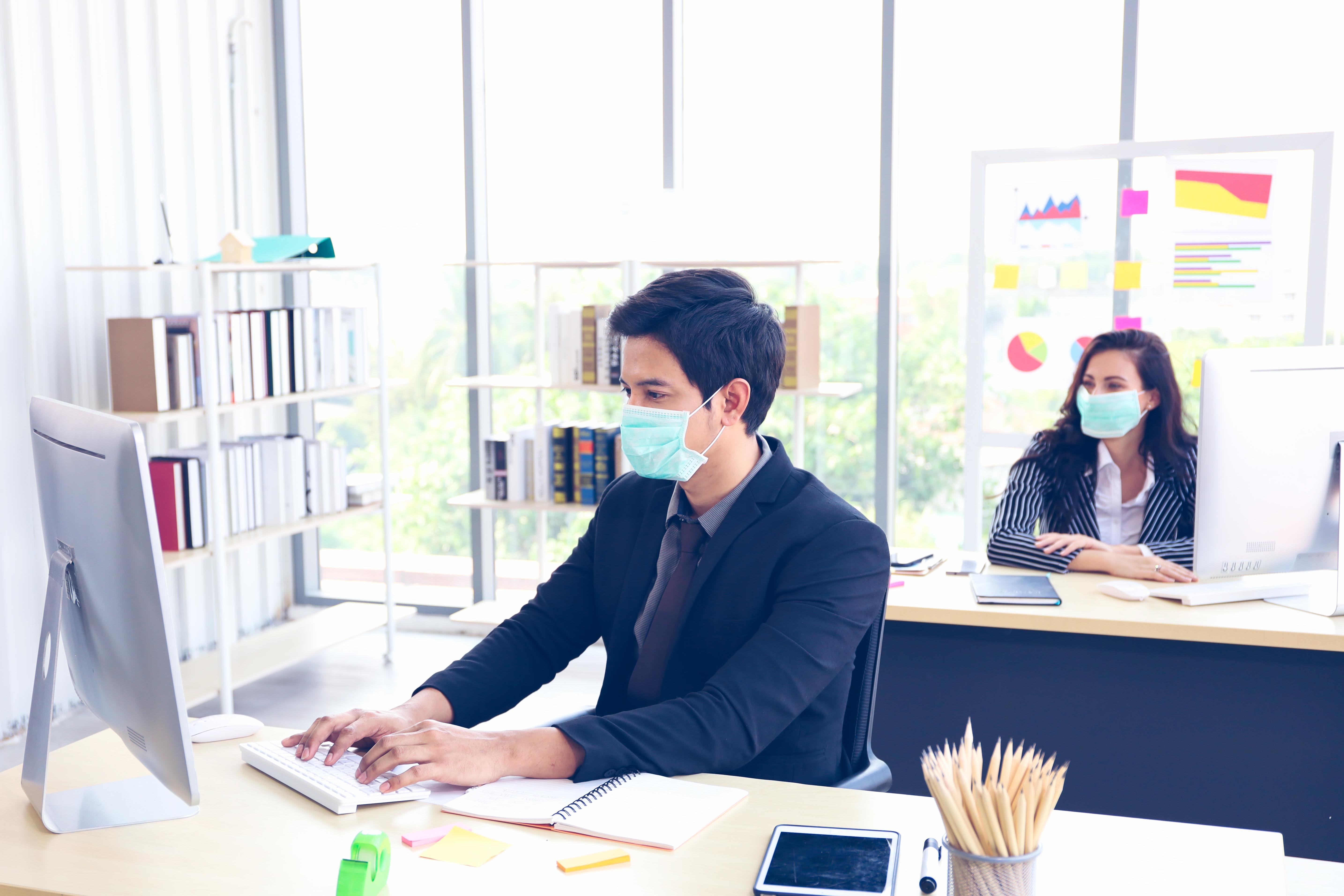 Voici le protocole pour la gestion du risque de contamination dans les lieux de travail