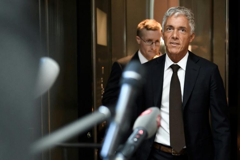 Le procureur général de Suisse, Michael Lauber, à son arrivée devant une commission parlementaire de l'Assemblée fédérale suisse, à Berne, le 20 mai 2020. Ph : AFP