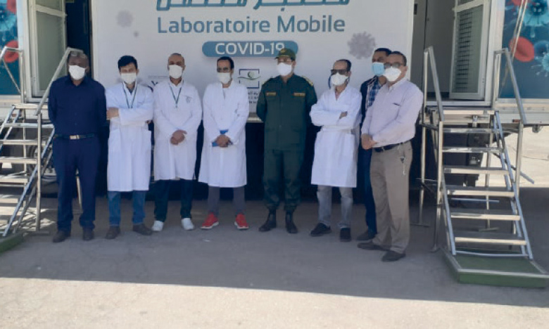 Covid-19 : Le laboratoire mobile d'analyses prend ses quartiers