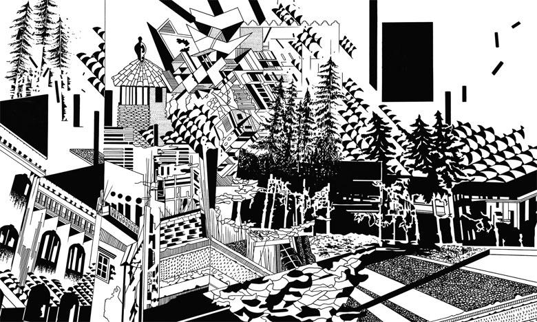 Chourouk Hriech ou le voyage en dessin à travers le temps et l'espace