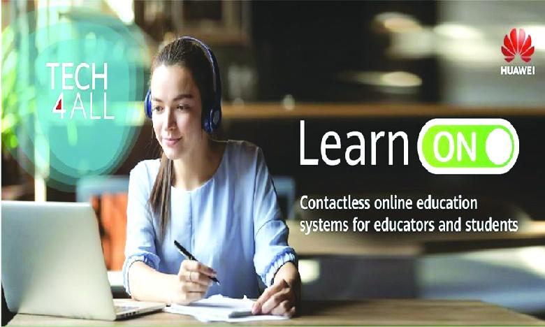Huawei met en place une série d'action pour faciliter l'apprentissage en ligne