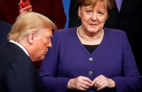 Merkel refuse de se rendre au G7 à Washington
