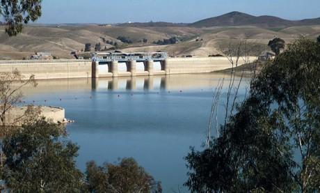 85,5 millions de m³ de réserves en eau dans les barrages