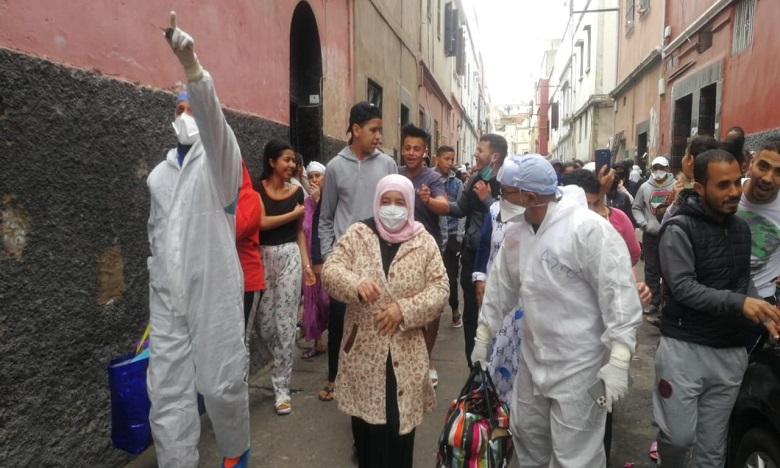 En images : A Casablanca, un autre exemple d'insouciance face aux dangers du Covid-19