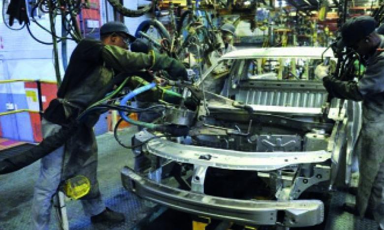 Afrique du Sud :  baisse de l'activité industrielle à un niveau record