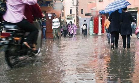Averses orageuses vendredi et samedi matin dans plusieurs provinces du Royaume