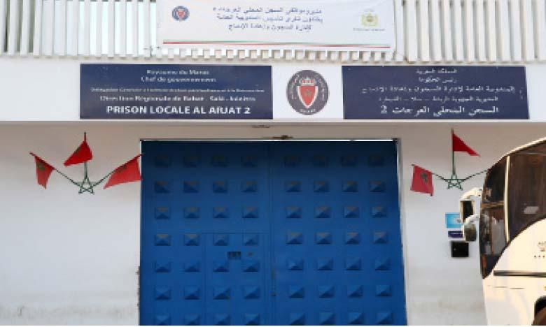 Prison locale Al Arjat II de Salé.