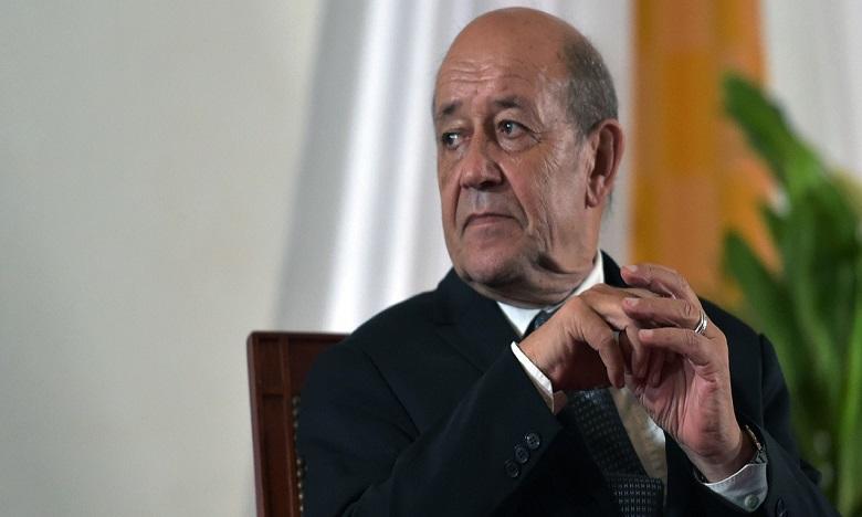 Assailli de questions sur la situation des Français bloqués en Algérie et au Maroc, Jean-Yves Le Drian a concédé des « difficultés » mais a aussi pointé les réglementations très strictes qui compliquent les rapatriements depuis ces pays. Ph: DR.