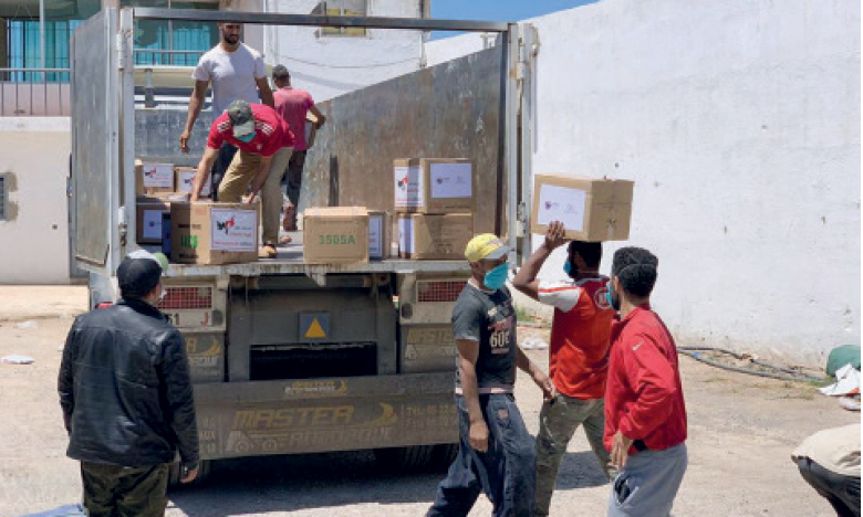 L'association El Baraka Angels franchit le cap  des 2.800 familles soutenues