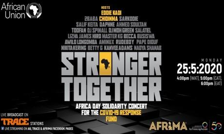 Vu sur Instagram : Stronger Together, l'Afrique unie contre la Covid-19