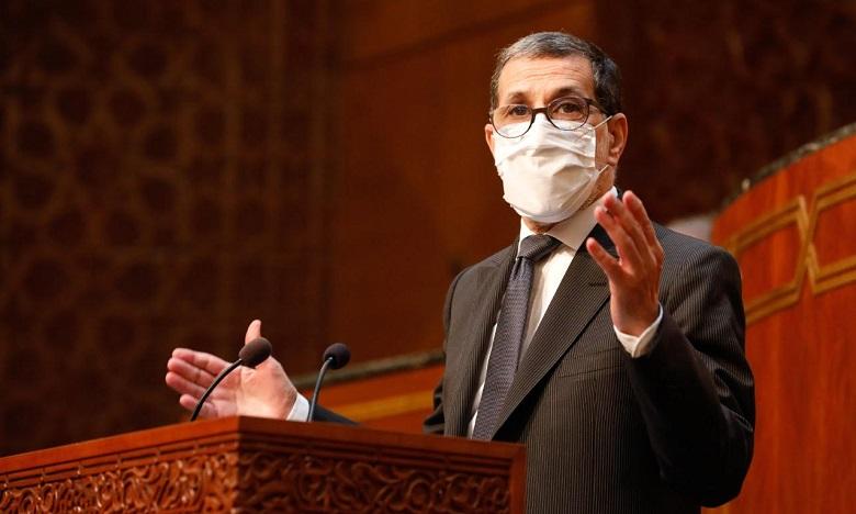 """Parlement : El Othmani présentera lundi """"le développement de la gestion du confinement pour l'après 20 mai"""""""
