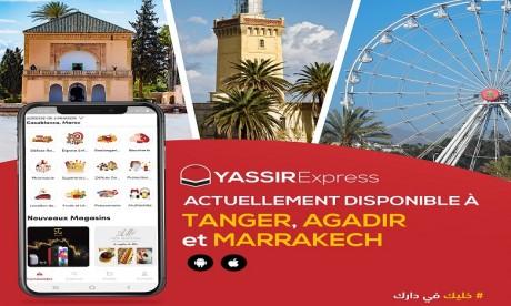 Livraison à domicile: Yassir Express étend son service à trois nouvelles villes
