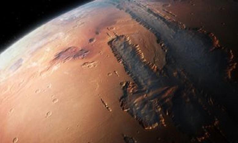 La Chine prévoit de lancer une sonde vers Mars en juillet