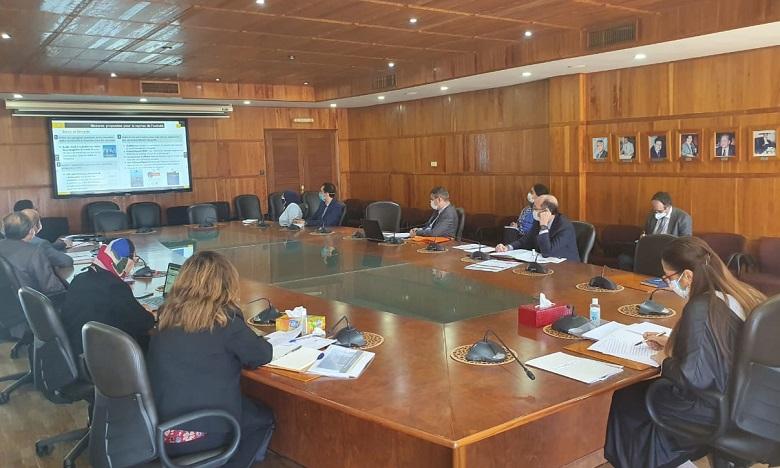Redémarrage progressif des chantiers : Mme Bouchareb fait le point avec le Groupe Al Omrane
