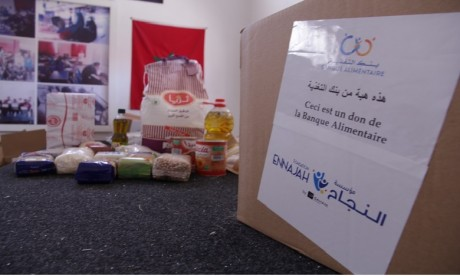 La Fondation Ennajah soutient la campagne solidaire de la Banque Alimentaire