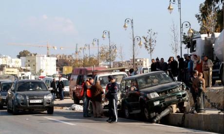 Accidents de la circulation : 21 morts et 1.214 blessés en périmètre urbain la semaine dernière