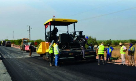Lancement de projets de développement pour  le renforcement des infrastructures à El Attaouia