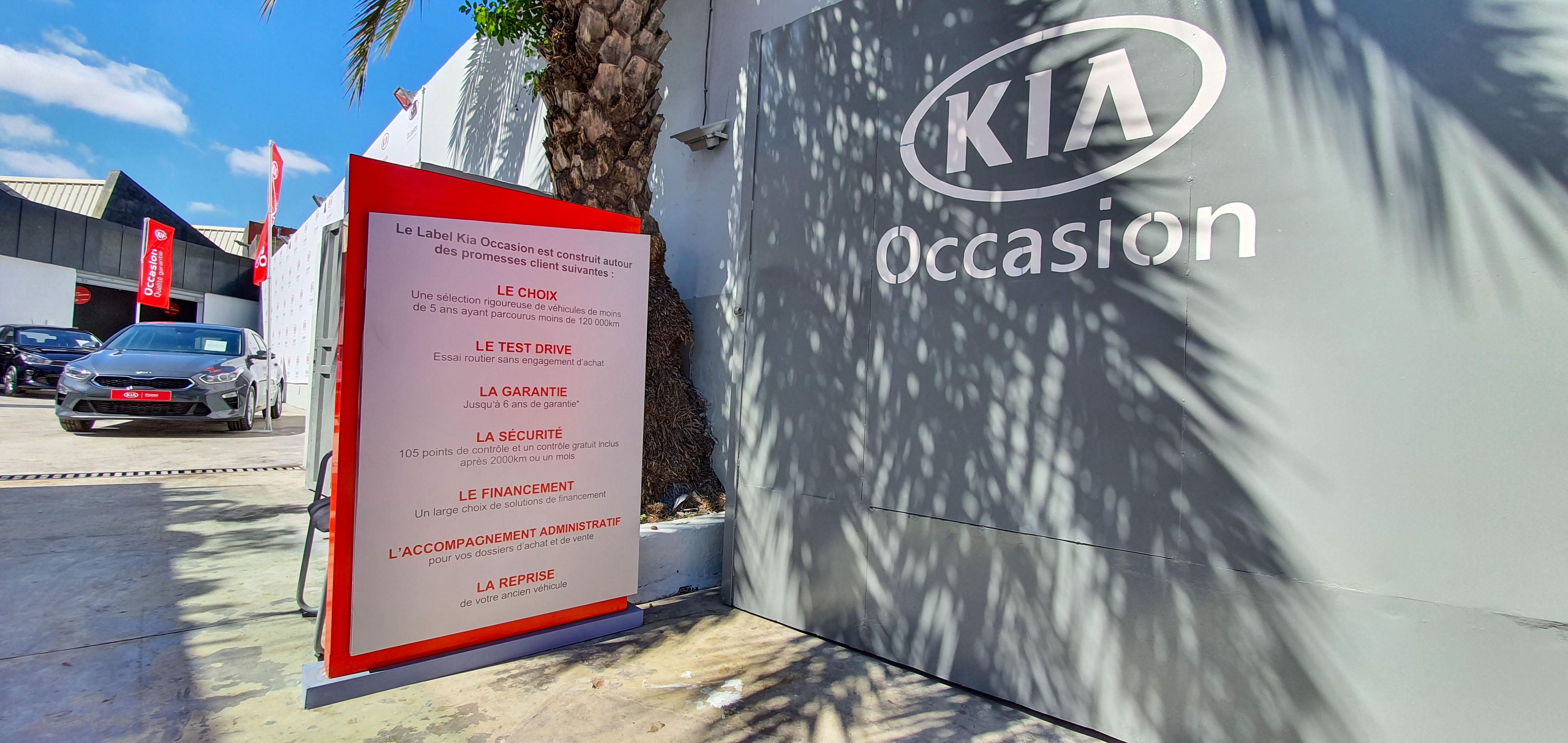 Kia Maroc commercialise des véhicules d'occasion